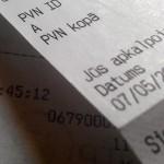 Kases aparāta čeks